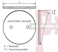Stauscheibe ohne Keil MKB.: PY (G40)